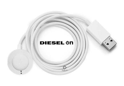 Diesel ON oplader voor smartwatch - Gen 4