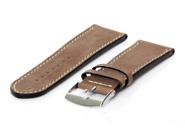 Horlogeband 26mm bruin