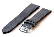 Horlogeband 20mm kalfsleer matgrijs
