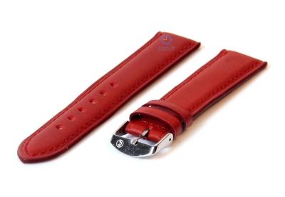Horlogeband 14mm cognac bruin leer