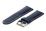 Horlogeband 18mm donkerblauw