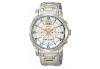 Seiko Premier horlogeband SPC058P1