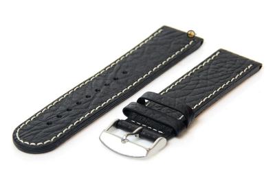 Tauchmeister 1937 horlogeband 22mm zwart