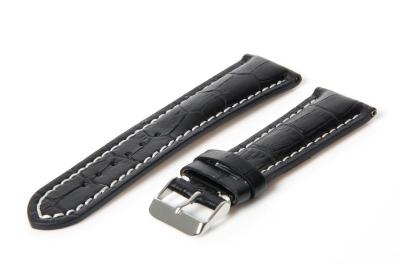 Gisoni Horlogeband 24mm zwart