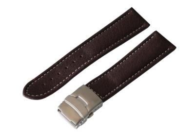 Horlogeband 26mm (bruin) Clip