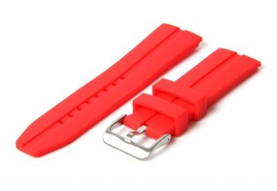 Horlogeband 22mm rood