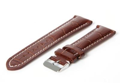 Gisoni Horlogeband 22mm Bruin gesp