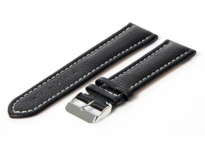 Gisoni Horlogeband 22mm zwart kalf