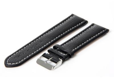 Gisoni Horlogeband 20mm zwart kalf
