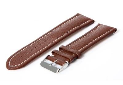 Gisoni Horlogeband 24mm (bruin) gesp