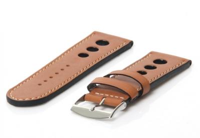 Horlogeband 26mm racing bruin