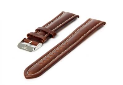 Aeromatic horlogeband bruin 20 mm