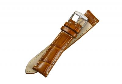 Fromanteel horlogeband large cognac brown