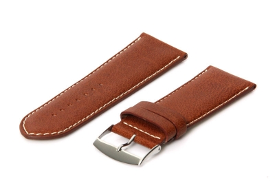 Horlogeband 28mm bruin
