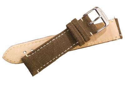Fromanteel horlogeband canvas brown