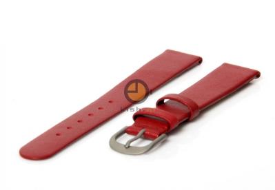 Danish Design horlogeband 16mm leer rood
