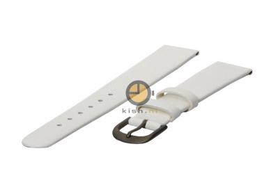 Danish Design horlogeband 16mm leer wit