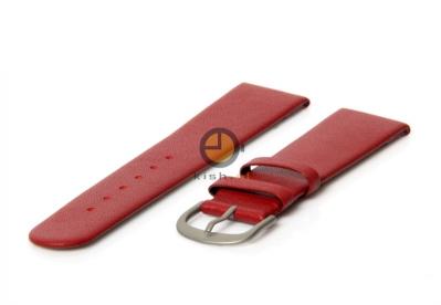 Danish Design horlogeband 18mm leer rood