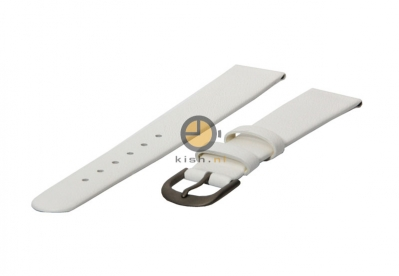 Danish Design horlogeband 18mm leer wit