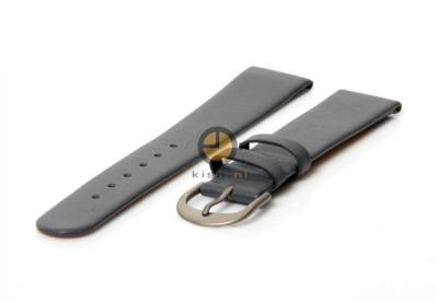 Danish Design horlogeband 18mm leer grijs