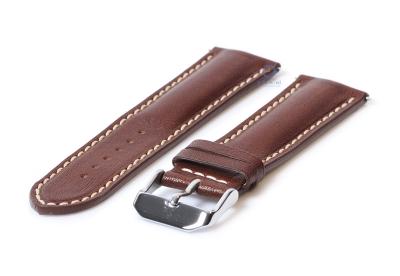 Horlogeband 24mm bruin