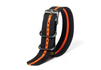 Luminox horlogeband FN.3950.35 zwart oranje