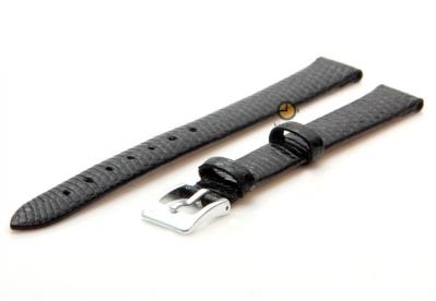 Horlogeband 12mm Zwart