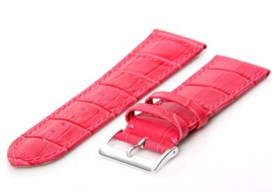 Horlogeband 26mm roze XL