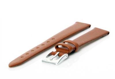 Horlogeband 12mm cognac bruin