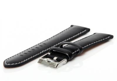 Aeromatic horlogeband zwart 20 mm