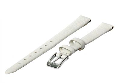 Horlogeband 10mm wit