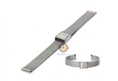 Milanese horlogeband 12mm fijn