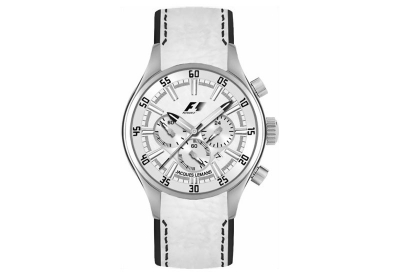 Jacques Lemans horlogeband F5034W Wit-zwart