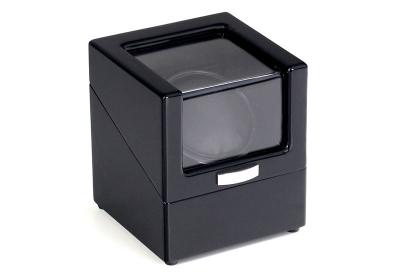 Watchwinder voor 1 horloge hoogglans zwart