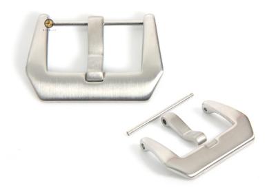 Horlogeband gesp Panerai model zilver 24mm