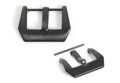 Horlogeband gesp panerai model zwart 24mm