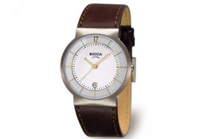 Boccia horlogeband 3514-03 bruin