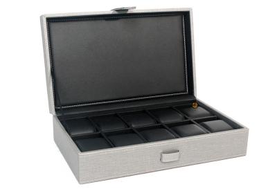 Gisoni Parata horlogebox grijs