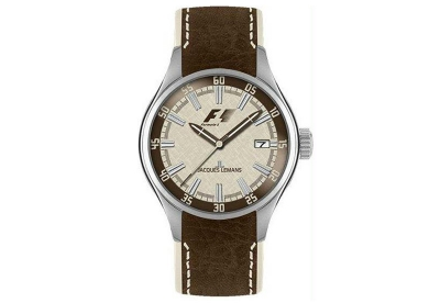 Jacques Lemans horlogeband F5036F Bruin