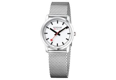 Mondaine 20mm milanese horlogeband