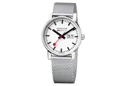 Mondaine 16mm milanese horlogeband