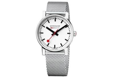 Mondaine 18mm milanese horlogeband