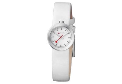 Mondaine 14mm horlogeband wit mat