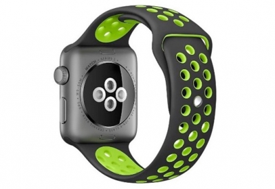 Apple watch sport horlogeband siliconen (42mm/44mm)