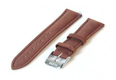 Cluse horlogeband La Bohéme bruin CLS011