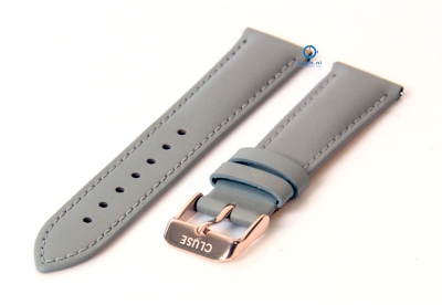 Cluse horlogeband Minuit grijs CLS319