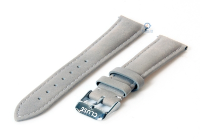 Cluse horlogeband La Bohéme grijs CLS020