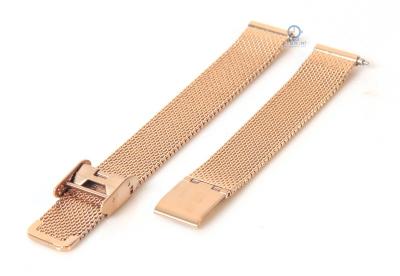 Cluse horlogeband La Vedette milanees rose goud CLS502