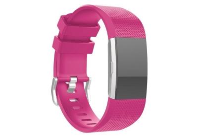 Fitbit Charge 2 horlogeband neon roze
