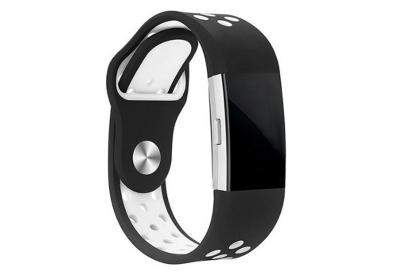 Fitbit Charge 2 sport horlogeband zwart